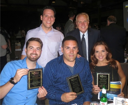 10News winners show off their awards